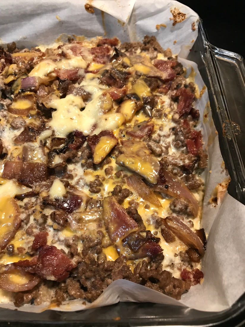 Zombie Apocalypse and Cheeseburger Casserole
