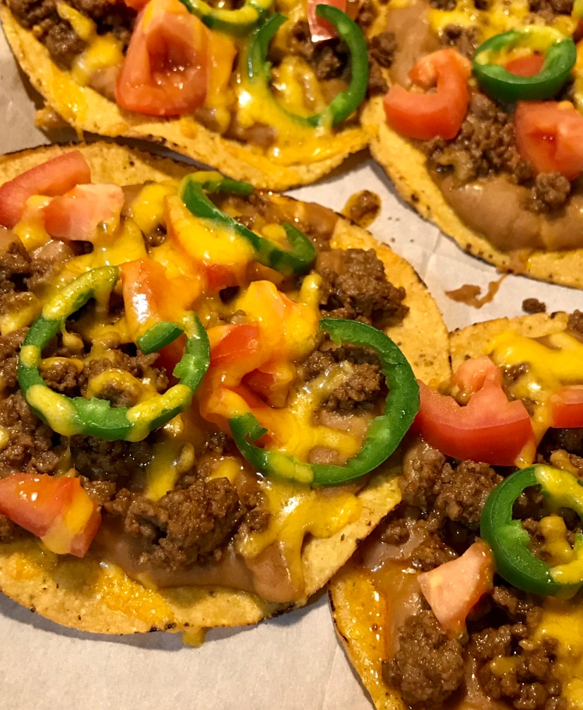 Tostadas with Drunken Beans and a Side ofRomance
